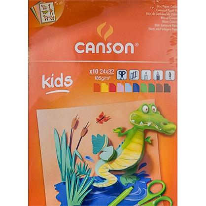 Farebné papiere Canson pre deti školy Abc-Creative Art
