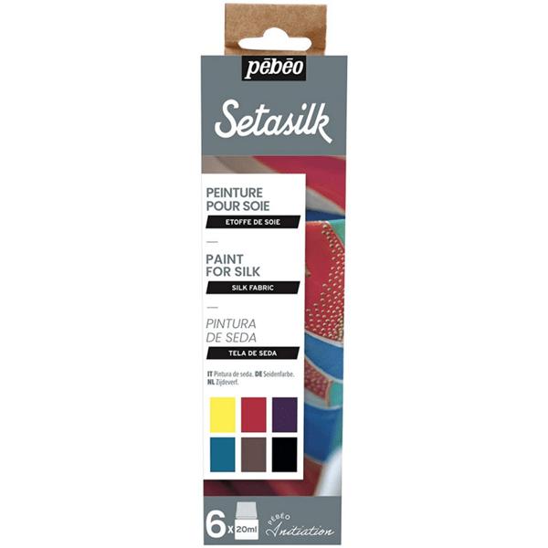 Pebeo Setasilk farby na hodváb abc creative art