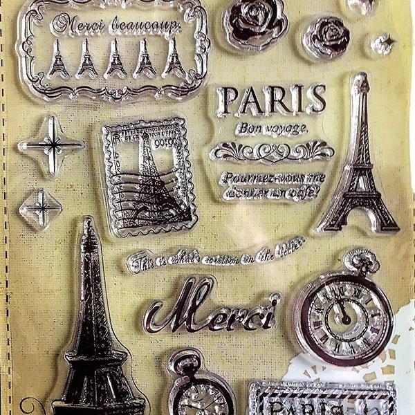 Silikonová pečiatka Paris