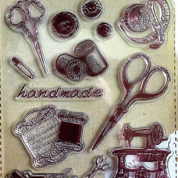 Silikonová pečiatka handmade