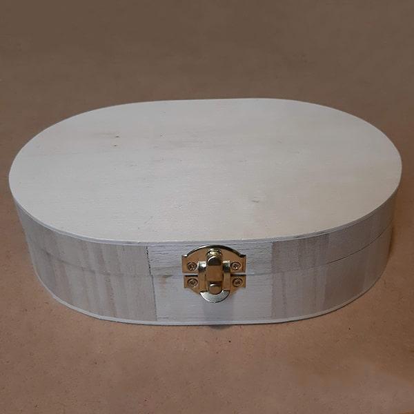 oválna krabička