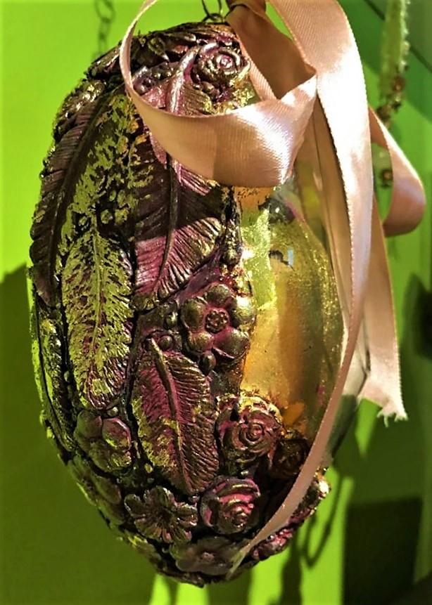 Dekoračné vajíčko 17 cm