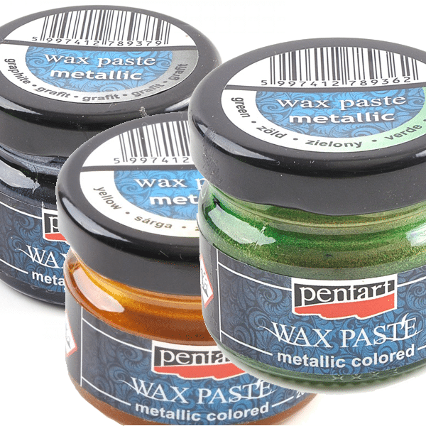 Pentart Wax Paste Metallic Colored