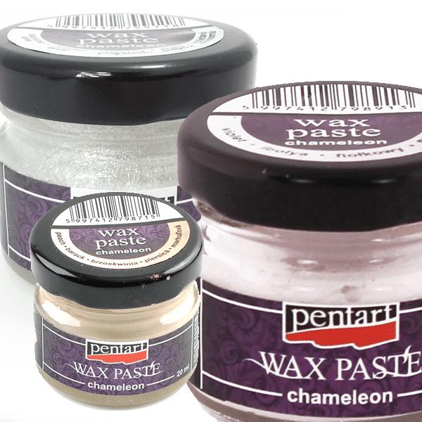 Pentart wax paste chameleon ikona 600x600-min