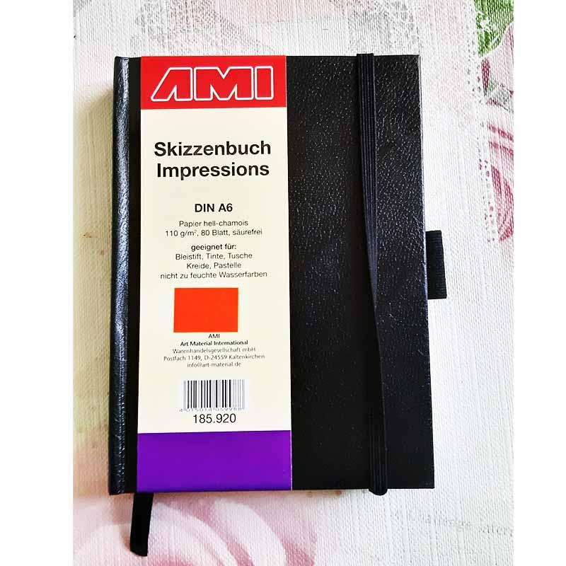 Ami Skicár Impressions A4 A5 A6 Abc-CreativeArt
