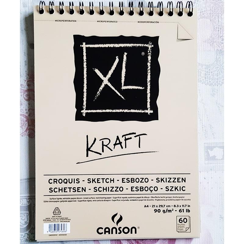 Skcár Canson Kraft XL A4