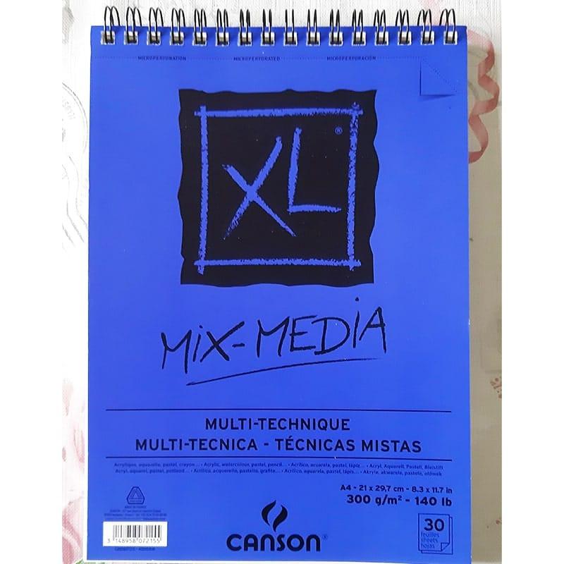 Skicár Canson Mix-Media XL A4