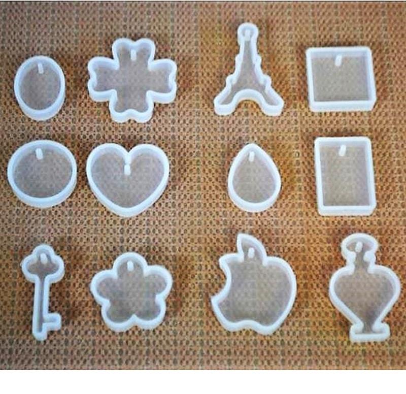 ABC-Creative Art silikonová forma na prívesky
