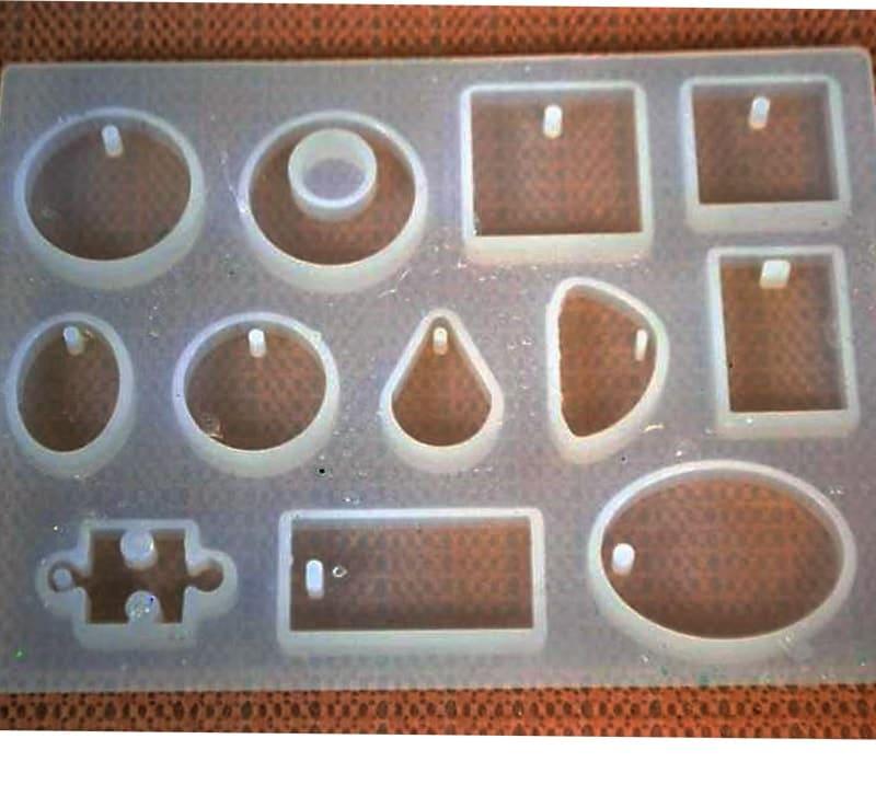 ABC-Creative Art silikonová forma na prívesky a doplnky
