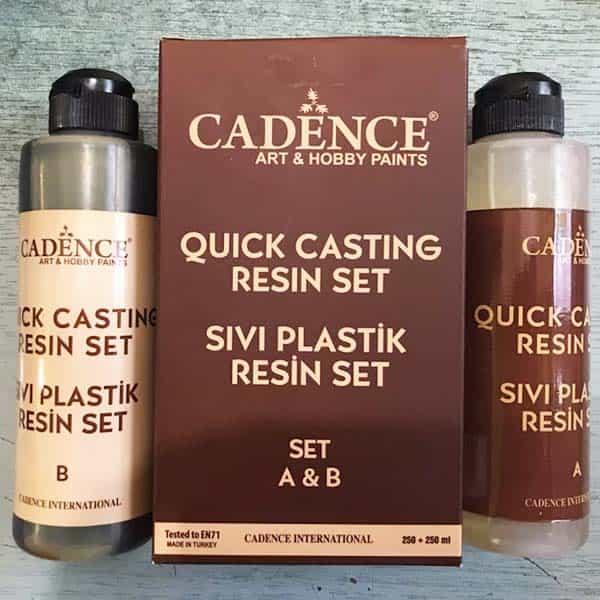 Cadence Quick Casting Resin Set Sivi Plastik Resin Set