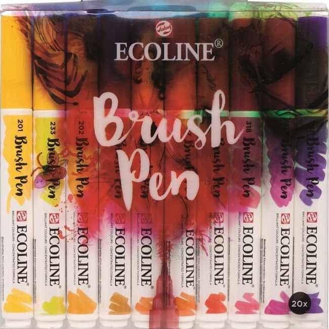 Abc-Creative Art Ecoline BrushPen štetcové perá